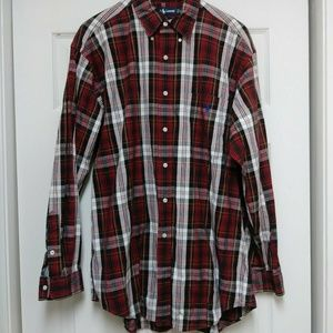 Polo Ralph Lauren Blaire L Long Sleeve Plaid